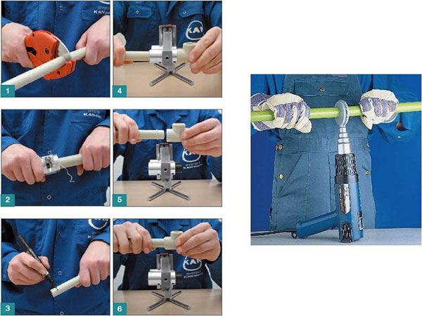 Как правильно и надежно паять пластиковые трубы?