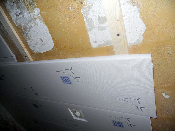 Фото обрешетки из дерева для пвх панелей