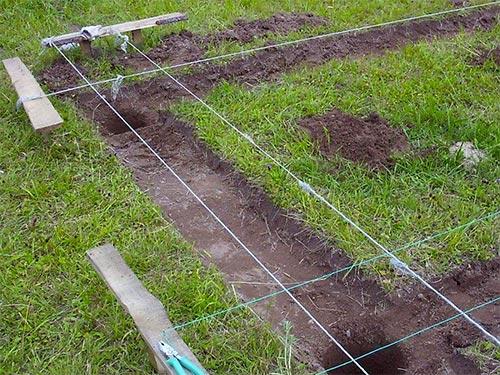 подготовка почвы к фундаменту