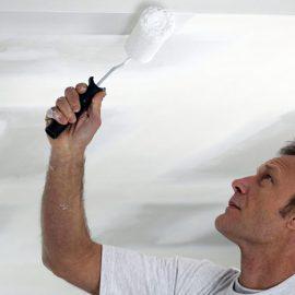 Как и чем можно покрасить плитку потолочную из пенопласта? Выбор краски и хитрости покраски