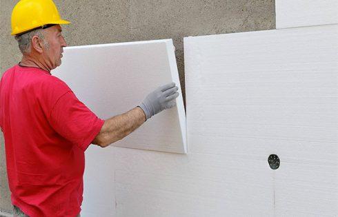 Как утеплить дом пенопластом своими руками. Технология монтажа и рекомендации