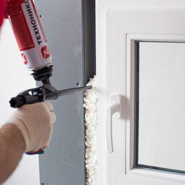 Как и чем удалить монтажную пену с пластиковых окон?
